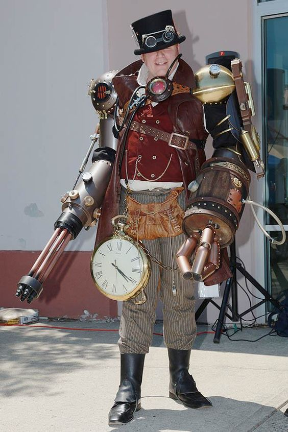 Cosplay Photos From The Steampunk World's Fair 2012