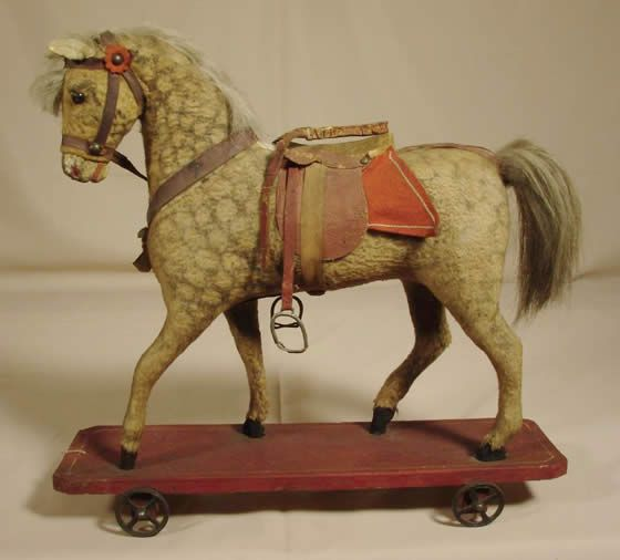 Horse Pull Toy Antique Toys Pinterest Toys New York