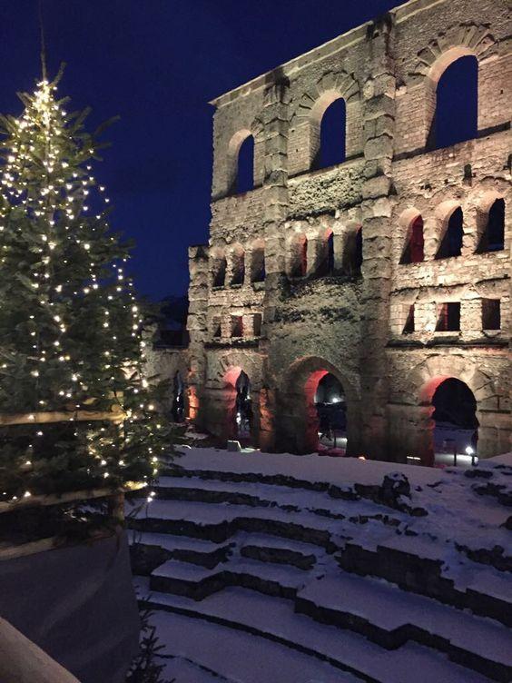 Aosta mercatini di Natale