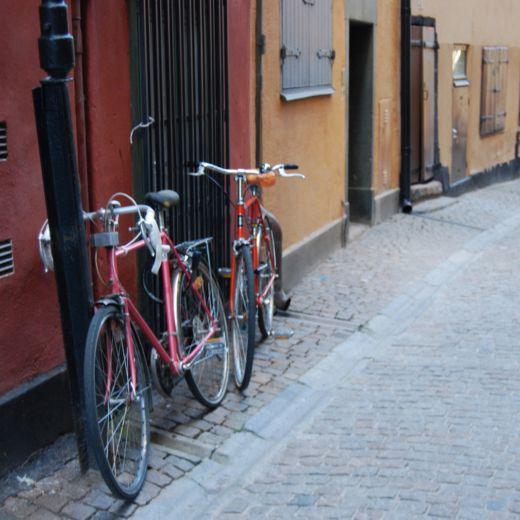 Old Town Stockholm, Sweden. Photography by Jenny S.W. Lee