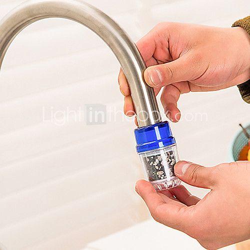 el filtro de agua del grifo grifo con carbón de bambú filtro de agua cartuchos de repuesto paquete de 2 - USD $5.99