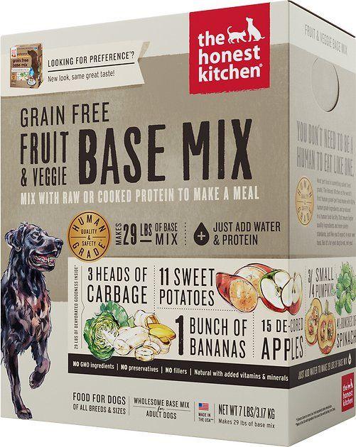 Is Honest Kitchen Dog Food Raw