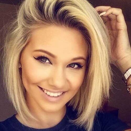 20 Short Haircuts For Girls 2018 Latest Hairstyles 2020 New Hair Trends Top Hairstyles Wig Hairstyles Thick Hair Styles Hair Styles