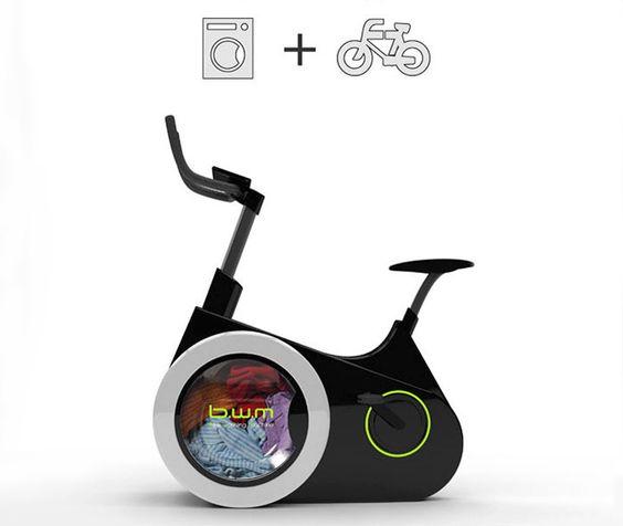 Esta Bicicleta Vai Limpar As Suas Roupas Enquanto Você Pedala