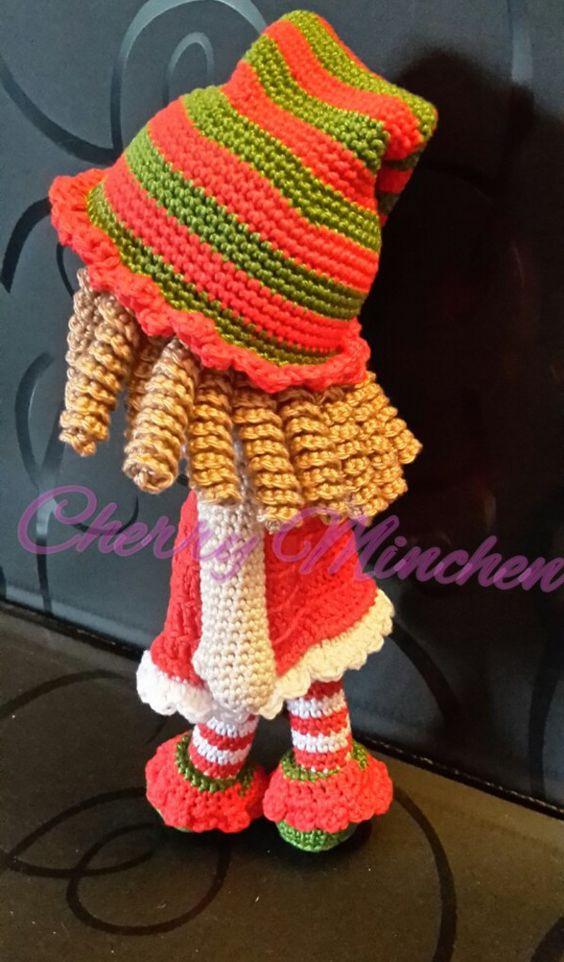 Mode- Kit für Lola Locken- Kopf *Wichtel set*