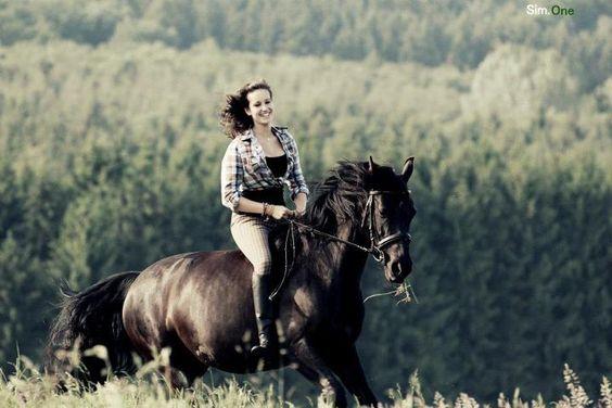Es gibt keine tieferen Geheimnisse,als die zwischen Pferd und Reiter. <3