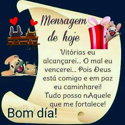 Amém! Bom dia! #bomdia #deusestanocomando #mensagem #reflexao #pinterest #blogsnc SolteirasNoivasCasadas.com