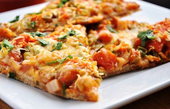 Mexican Pizza Enchilada