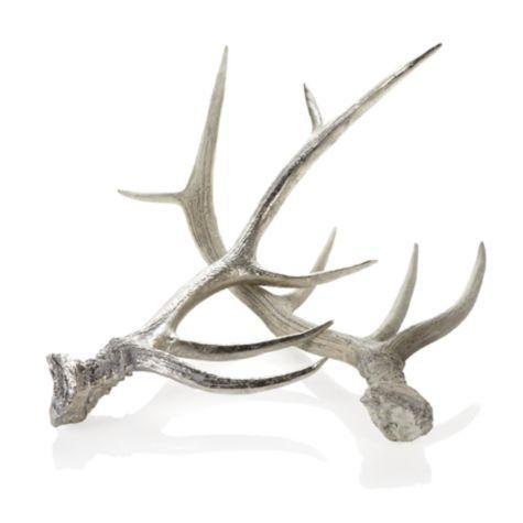 Faux Deer Antlers from Z Gallerie: Antlers Zgallerie, Accessories Decor, Deer Antlers, Living Room, Faux Antlers, Antlers Decorative, Zgallerie Silver