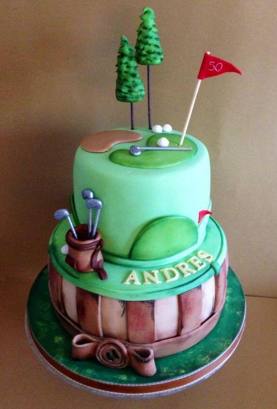 Golf cake - Cake by Cristina