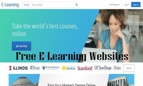 Free E Learning Websites Top E Learning Websites Learning