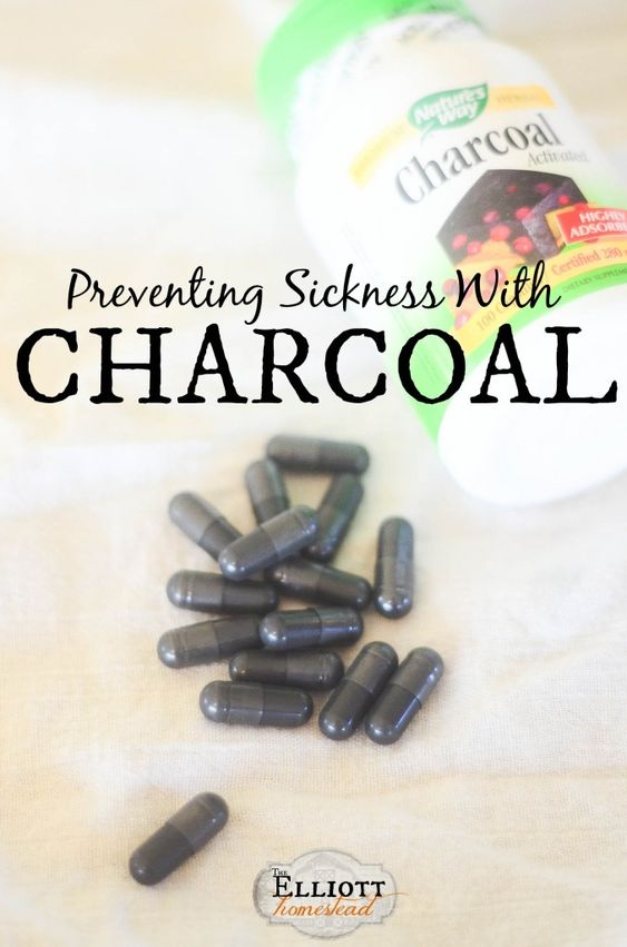 Preventing Sickness with Charcoal | The Elliott Homestead