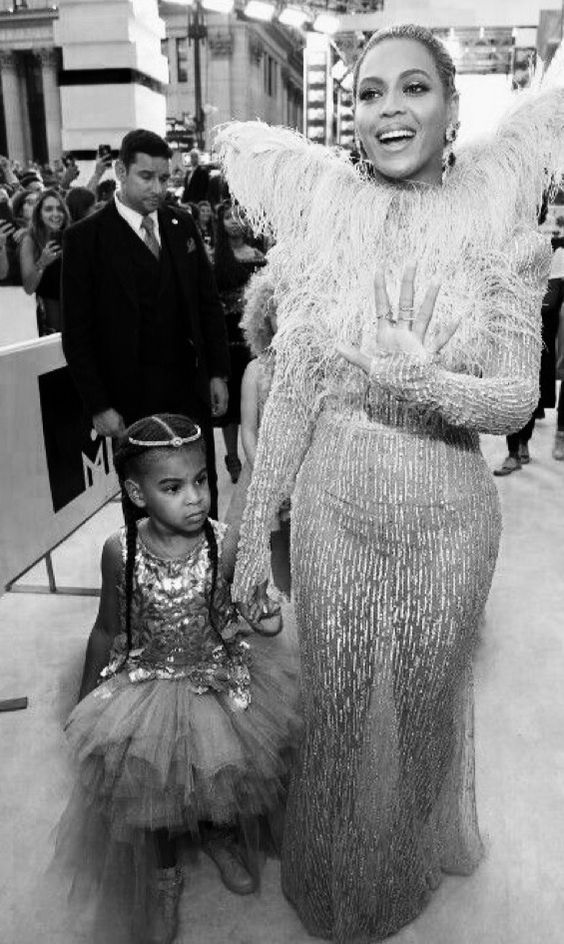 Blue and Bey at VMA's 2016