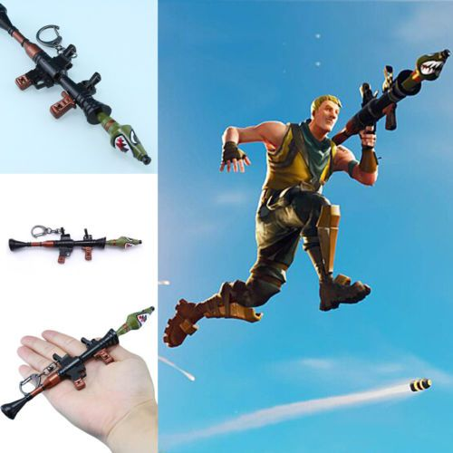 Fortnite Battle Keychain Royale Rocket Launcher Weapon Video Game Accessory Video Game Accessories Fortnite Epic Games