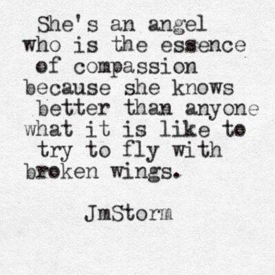 """mindfulmodesty: """" jmstormquotes: """" Broken Wings """" Queue """""""