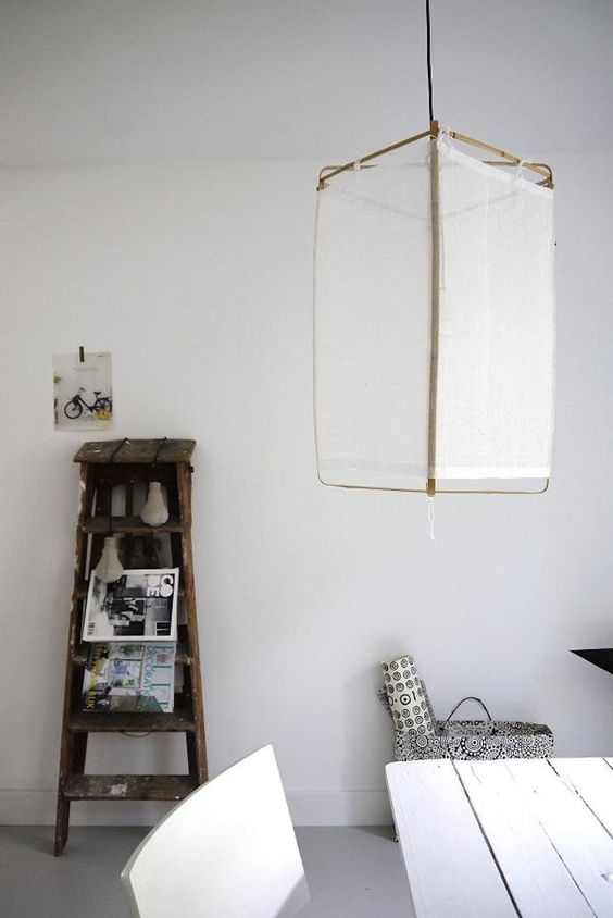 Ethereal Lighting from the Netherlands : Remodelista  (picture of Desiree's home)