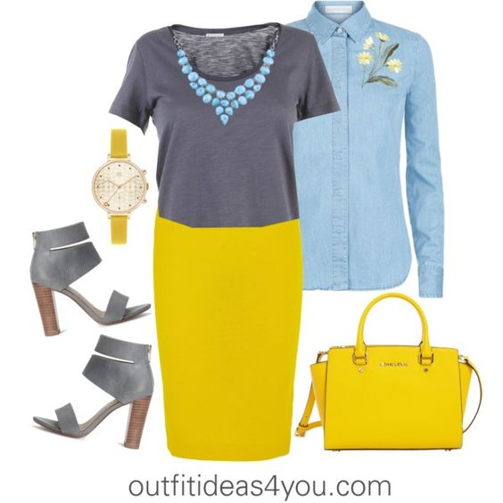 How To Wear Buttercup For A Toned Soft Summer by jen-thoden on Polyvore featuring мода, STELLA McCARTNEY, Moncler, J.Crew, Splendid, MICHAEL Michael Kors and Orla Kiely