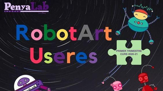 Vídeo-resum RobotArt Les Useres 1r trimestre curs 2020-21