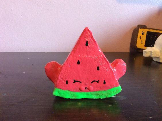 Melonie pips homemade shopkins squishy homemade shopkin for Squishy ideas