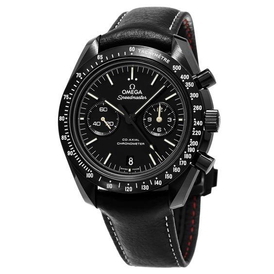 Omega Men's 311.92.44.51.01.004 'SpeedmasterMoon' Dial Strap Chronograph Swiss Automatic Watch