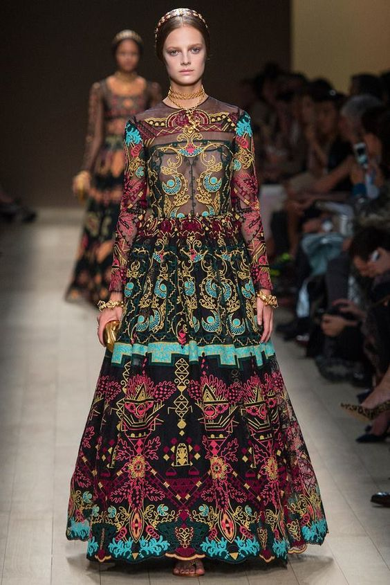 Matriochka dress, Valentino SS2014.