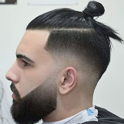 35 Best Men S Fade Haircuts The Different Types Of Fades 2020 Man Bun Haircut Man Bun Hairstyles Low Fade Haircut