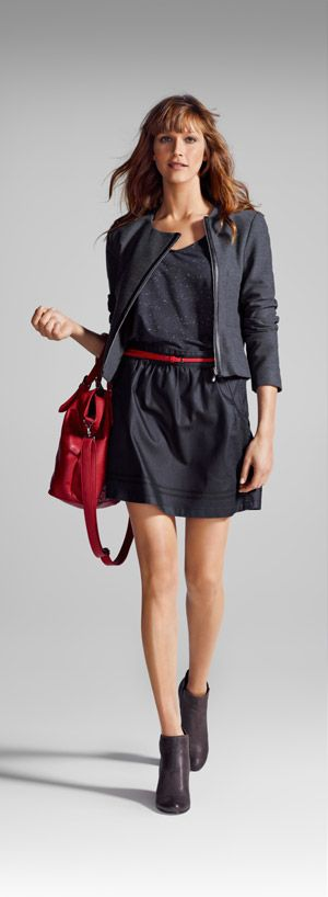 En rouge noir camaieu pret a porter femme et vetement mode en ligne mode by manue - Pret a porter femme en ligne ...