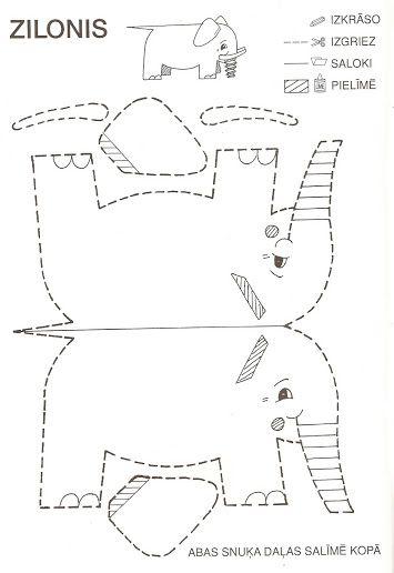 Animales de papel: