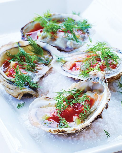 Bloody Mary Oysters   Sweet Paul Magazine #Ousters #Seafood #SweetPaul: