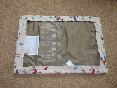 Pack'n'play sheet tutorial (no elastic) | Baby products ... : graco quilted pack n play sheet - Adamdwight.com