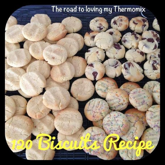 Recipe for large amount of cookies