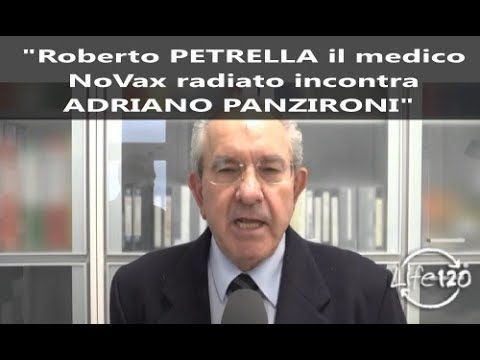 Roberto Petrella Il Medico Novax Radiato Incontra Adriano