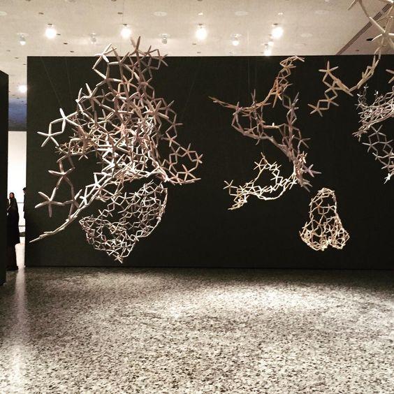 """Maria Fernanda Cardoso. #mfah #installationart"""