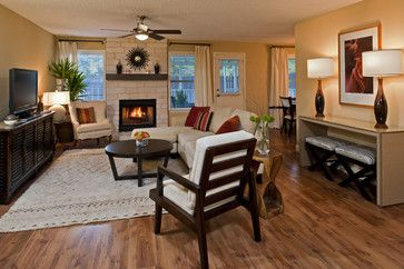 Modern neutrals - contemporary - living room - austin - Christen Ales Interior Design