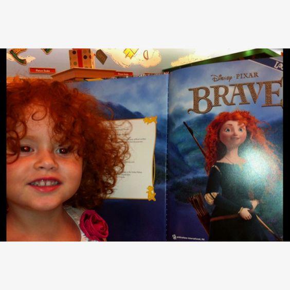 My alive BRAVE girl! Lol  La princesita hermosa de la tia!!!!!!  :)