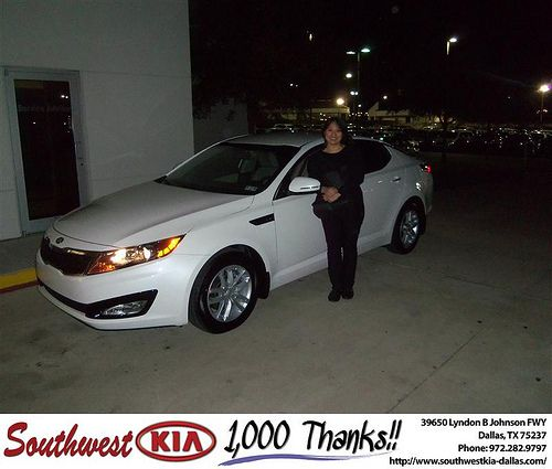 Happy Anniversary to Marilyn Lim on your 2013 #Kia #Optima from James Adams and everyone at Southwest Kia Dallas! #Anniversary