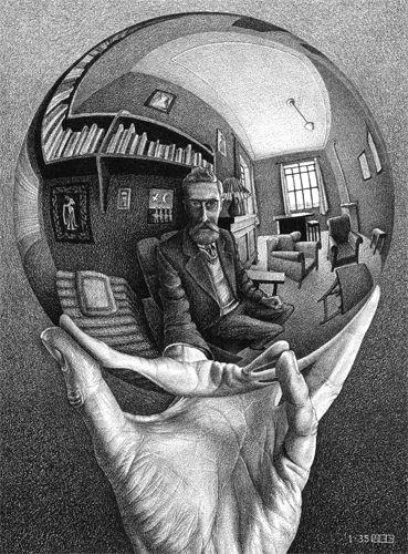 M.C. Escher - Self Portrait