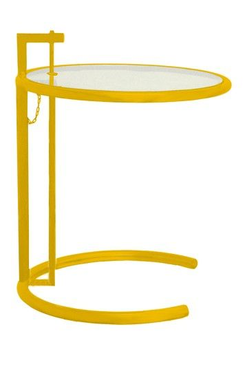 Lite Adjustable Yellow Side Table by PANGEA/home on @HauteLook