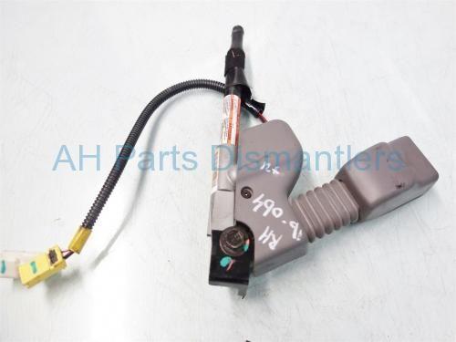 Used 2007 Honda Civic PASSENGER SEAT BELT BUCKLE GRAY  04813-SVA-A01 04813SVAA01. Purchase from https://ahparts.com/buy-used/2007-Honda-Civic-PASSENGER-SEAT-BELT-BUCKLE-GRAY-04813-SVA-A01-04813SVAA01/112689-1?utm_source=pinterest