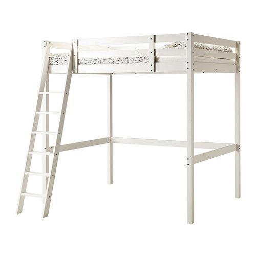 Bureau Bois Massif Ikea : IKEA Loft Bed White