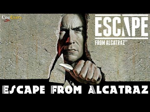 Escape From Alcatraz Hollywood Crime Movies Clint Eastwood