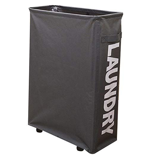 Wifume L15 4 X W7 3 X H22 1 Laundry Hamper With Wheels For Small