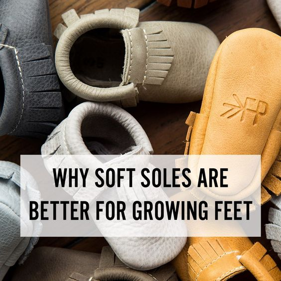 Why Soft Soles are Better for Growing Feet | Freshly Picked baby moccasins