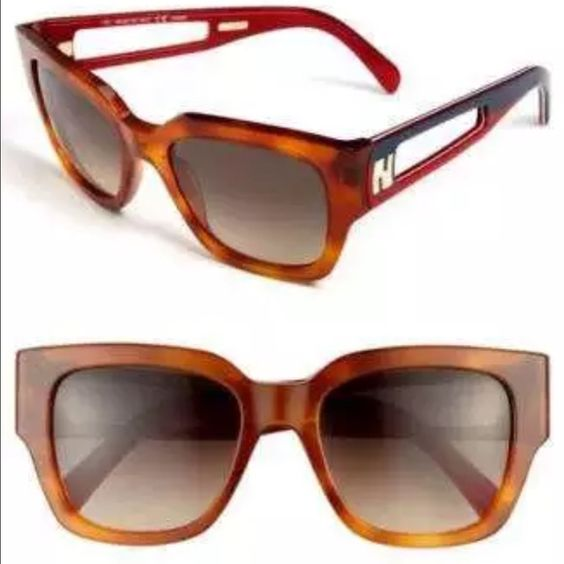 FENDI SUN 5276 215 Havana Brown Sunglasses STYLE: FENDI SUN 5276 215 SUNGLASSES  COLOR: BLONDE HAVANA FRAME/BROWN GRADIENT LENS  ORIGIN: ITALY  SIZE: 52 mm X 19 mm X 135 mm  GENDER: FEMALE  THESE SUNGLASSES ARE 100% AUTHENTIC OR YOUR MONEY BACK GUARANTEED!! THIS WILL COME IN ITS ORIGINAL CASE AND MANUFACTURERS PAPERS. IF YOU HAVE ANY QUESTIONS OR INQUIRIES OF ANY SORT, DON'T HESITATE TO MESSAGE ME. FENDI Accessories Sunglasses