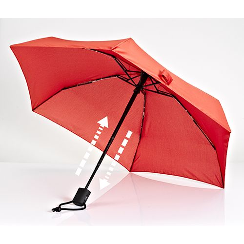 Dainty Automatic Umbrella, Red
