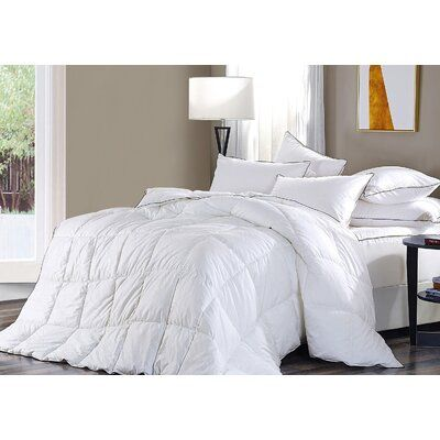 Alwyn Home Brookhn All Season Down Alternative Comforter Size Queen Down Pillows Down Comforter Comforters