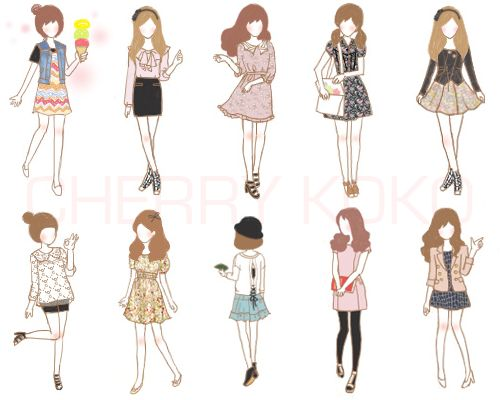 ten days of outfits