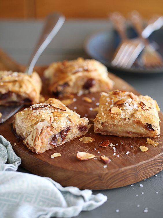 Strudel, Cherries and Apples on Pinterest
