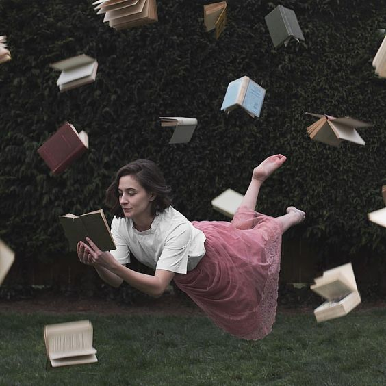 "Dominique (@allthatisshe) on Instagram: ""I don't know what's more unbelievable, the flying books, me levitating, the fact that I was outside…"""