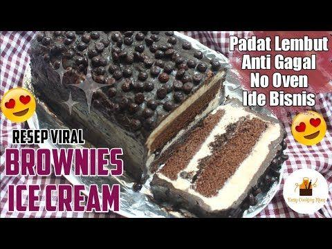 Brownies Es Krim Tube Es Krim Brownis Kue